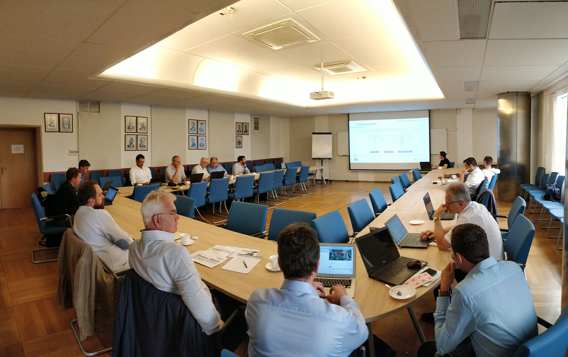 First Steering Committee Meeting of HEATPACK held at Warsaw University of Technology