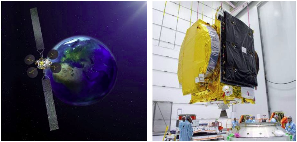 Eutelsat & ISRO's GSAT-3′ launched succesfully by Arianspace