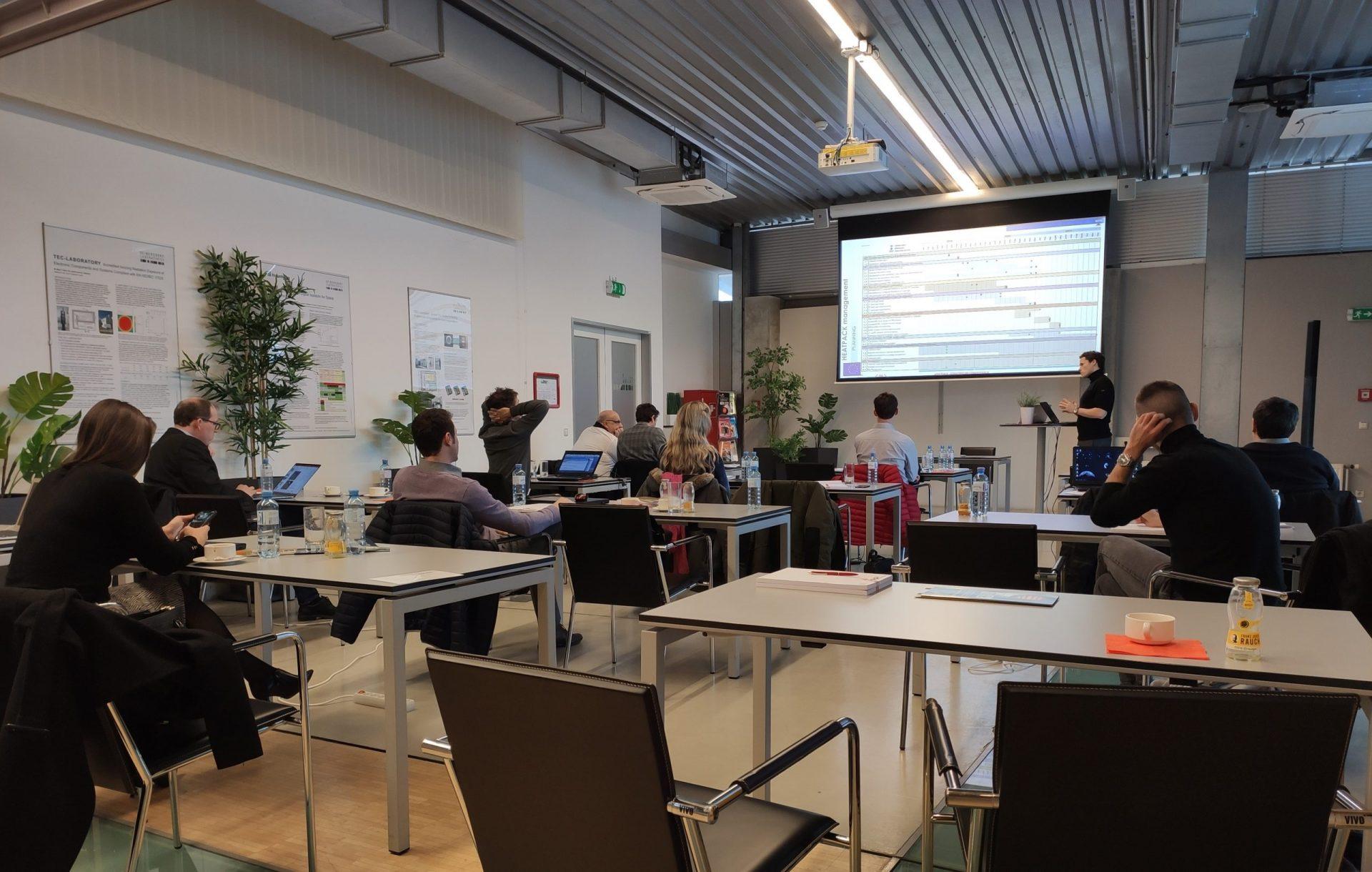 First Year Review Meeting of HEATPACK held at Seibersdorf